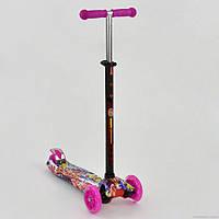 Самокат Best Scooter MAXI Розовый 1395