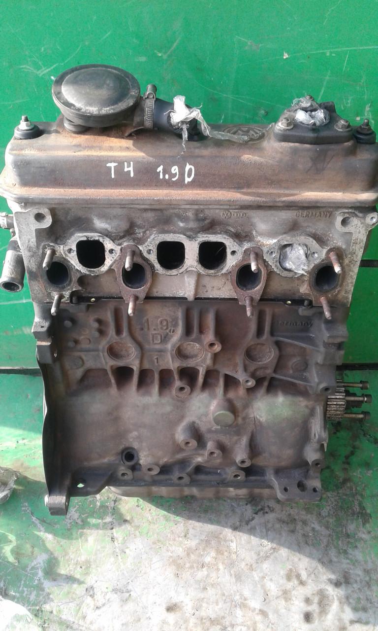 Б/у двигун для Volkswagen T4 (Transporter) 1.9 D 1X 056 886, 06A92, 028 103 021 AF