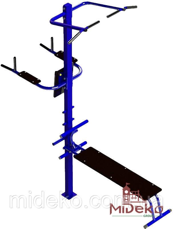 Універсальний спортивний вуличний тренажер - 203 MIDEKO
