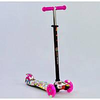 Самокат Best Scooter MAXI Розовый 1309