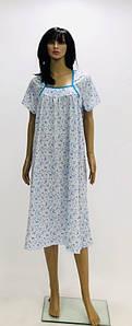Хлопковая ночная сорочка разных цветов большого размера 52-62 р