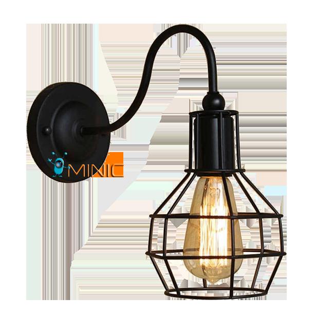 Винтажный светильник (бра) Ascelina WL172 настенный