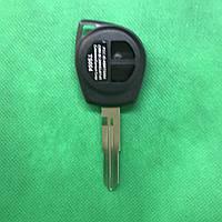 Корпус авто ключа Suzuki Grand Vitara, Swift, SX4 (Сузуки Гранд Витара, Свифт, SX4) лезвие HU133 - 2 кнопки