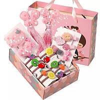 Набор 26 заколки для Принцессы для девочки Розовый