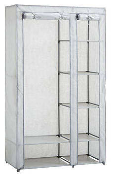 Портативный тканевый складной шкаф-органайзер