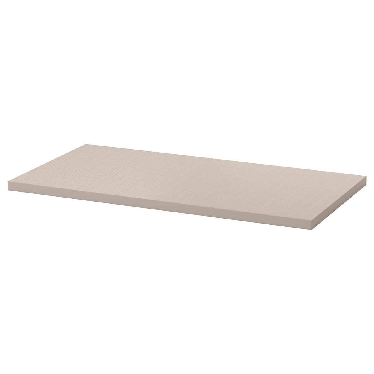 Столешница IKEA LINNMON геометрический бежевый 120x60 см 603.537.58