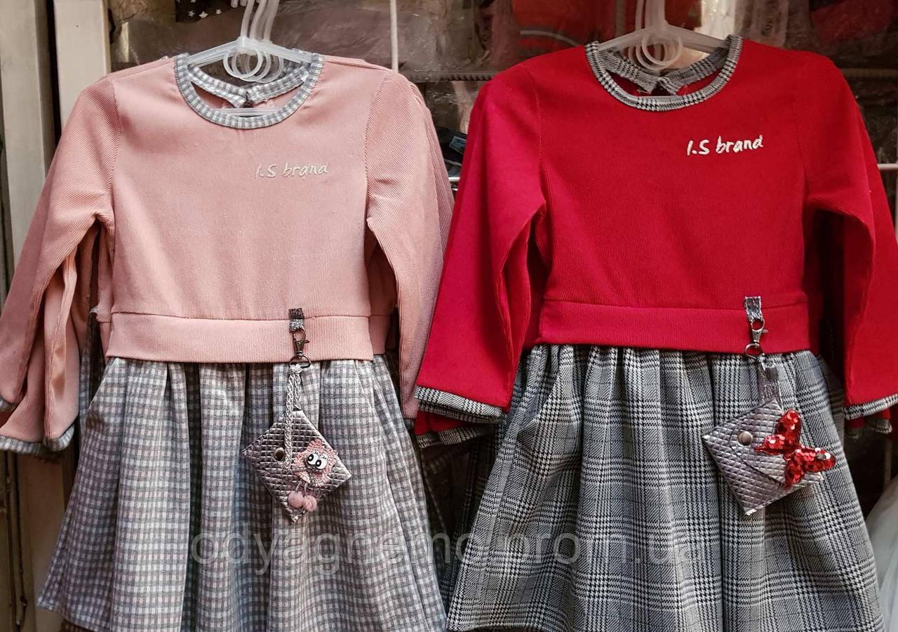 Платье для девочек I.S brand  оптом, 104-122 рр .