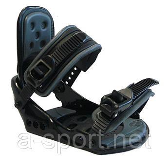 Нове кріплення для сноуборда Кріплення Nidus soft pro black L/XL
