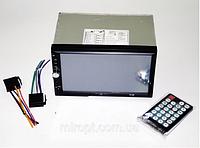 Автомагнитола Pioneer 2Din 7012 + рамка,  сенсорная