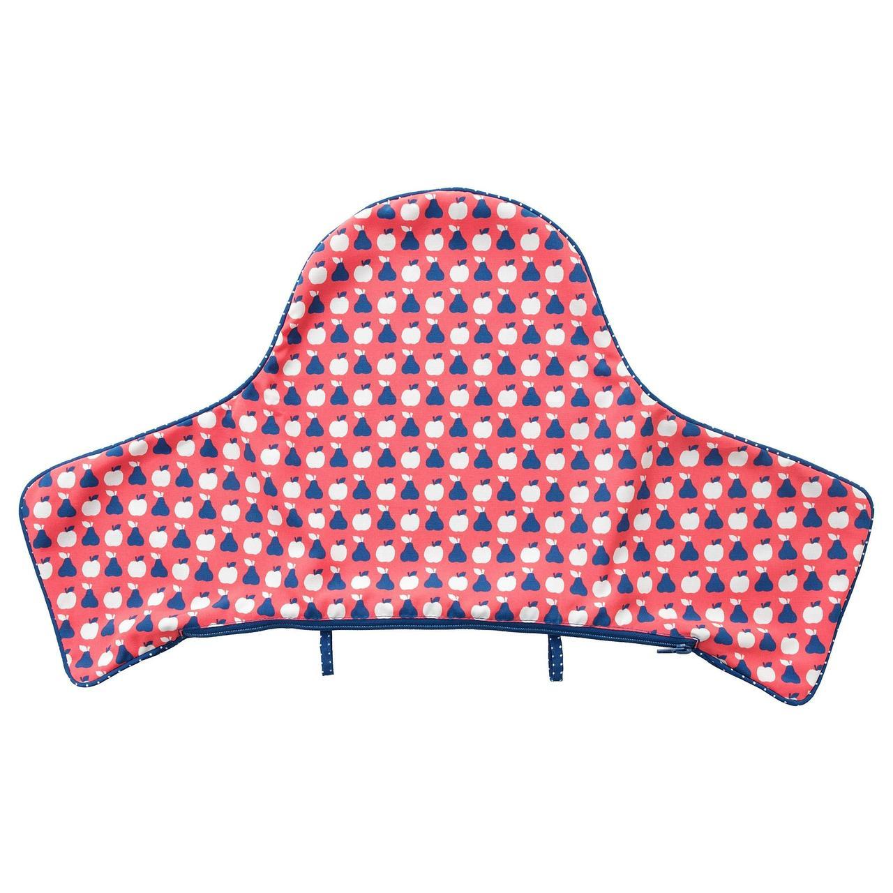 Чехол IKEA ANTILOP синий красный 804.269.28