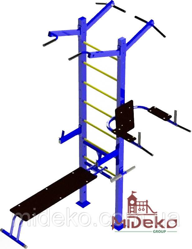 Універсальний спортивний вуличний тренажер - 201 MIDEKO