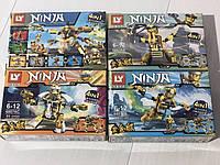 Детский конструктор Lego ninja 49-55 деталей