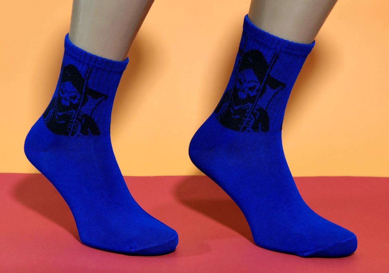 Носки Neseli Athletic Смерть синие 6096