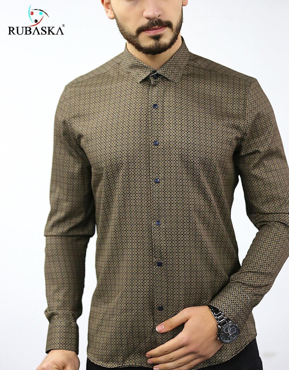 Турецкая мужская рубашка з узором