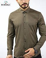 Турецкая мужская рубашка з узором, фото 1