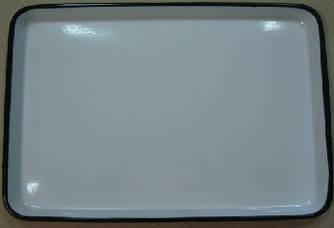ЛУЕ-450 Лоток прямокутний емальований 450 х 350 х 33 мм