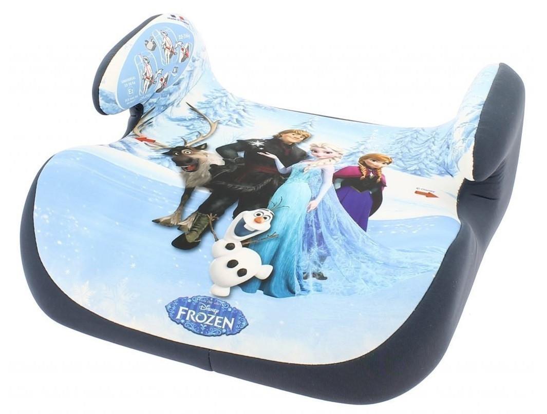 Автокресло для детей, бустер 25-36 кг, группа 3, Frozen Elza