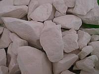 Мел Святогорья кусковой,природный, пакет 1 кг