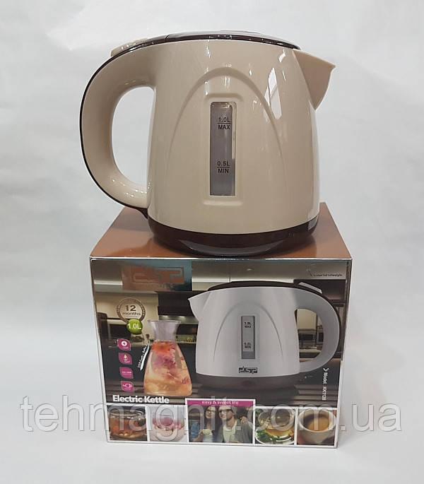 Чайник электрический DSP KK1128 1л ( 1100-1300Вт ) электрочайник