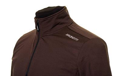 Чоловіча кофта Brunotti Terni Men Fleece L Tabacco, фото 2
