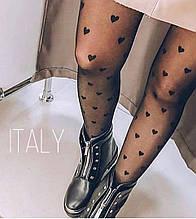 Колготки « Сердечки Италия»