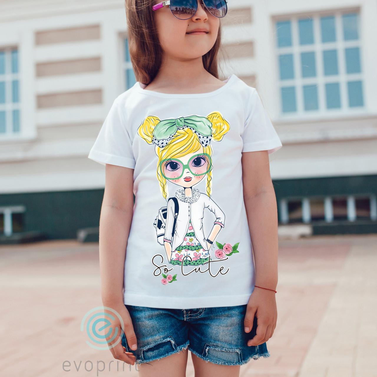 Накатка на детскую одежду