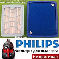 Фильтр philips hepa 13 и 10 хепа (нера) для пылесоса Филипс ПоверПро Эксперт без мешка (аксессуары, запчасти), фото 1