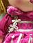 Мягкая игрушка Кукла С38944 в малиновом, фото 3