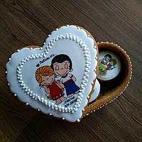 Пряник имбирно медовый ручной работы печиво імбирно медове