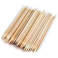 Апельсинові палички для манікюру 100 штук, 15 см, фото 1