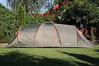 Палатка кемпинговая туристическая Abarqs Clif -8 двухкомнатная новая
