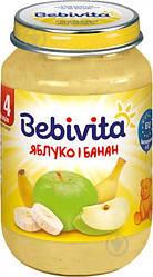 Пюре Bebivita Яблоко и банан, 190 г