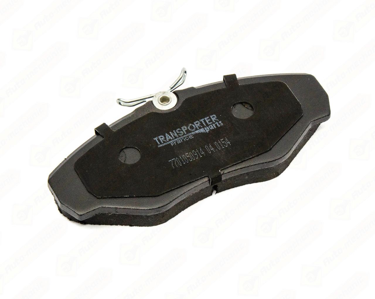 Дисковые тормозные колодки (передние) на Renault Trafic II 2001->2014 — AutoTechteile - 504.0154