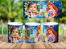 Детские чашки с фото и поздравлением