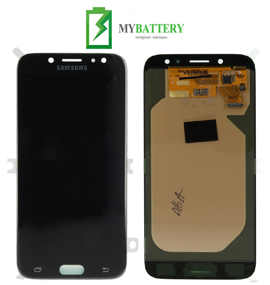 Дисплей (LCD) Samsung GH97-20736A J730 Galaxy J7 (2017) с сенсором черный сервисный