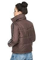 """Модная укороченная женская демисезонная куртка без капюшона """"Селена"""" - 44, 46, 48, 50, 52, 54"""