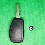 Корпус авто ключа для переделки из обычного Renault Logan,Sandero,lodgy,Duster (Рено) 3 кнопки, лезвие VAC102, фото 2