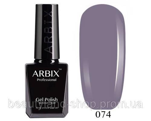 Гель-лак Arbix №74 Нуар