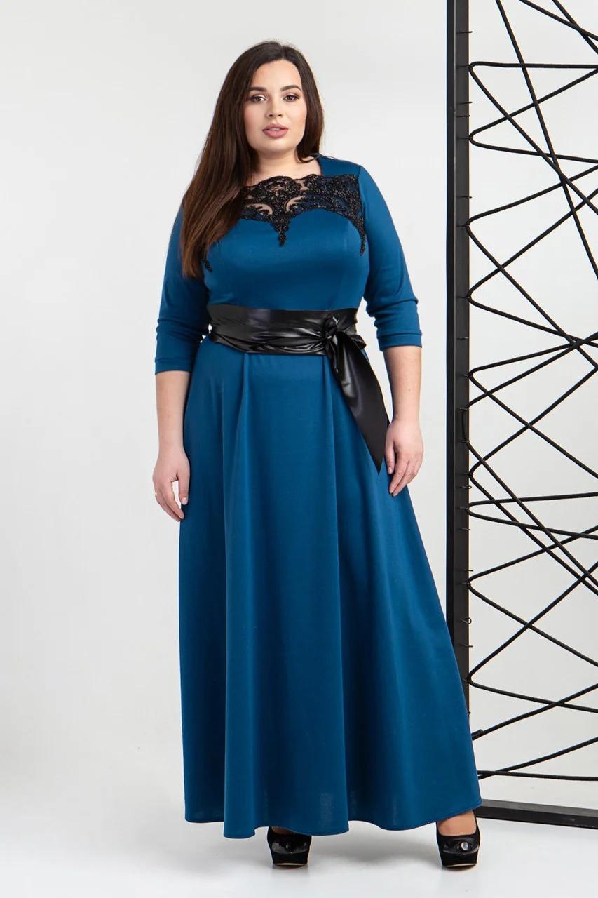 Вечернее платье длинное 540