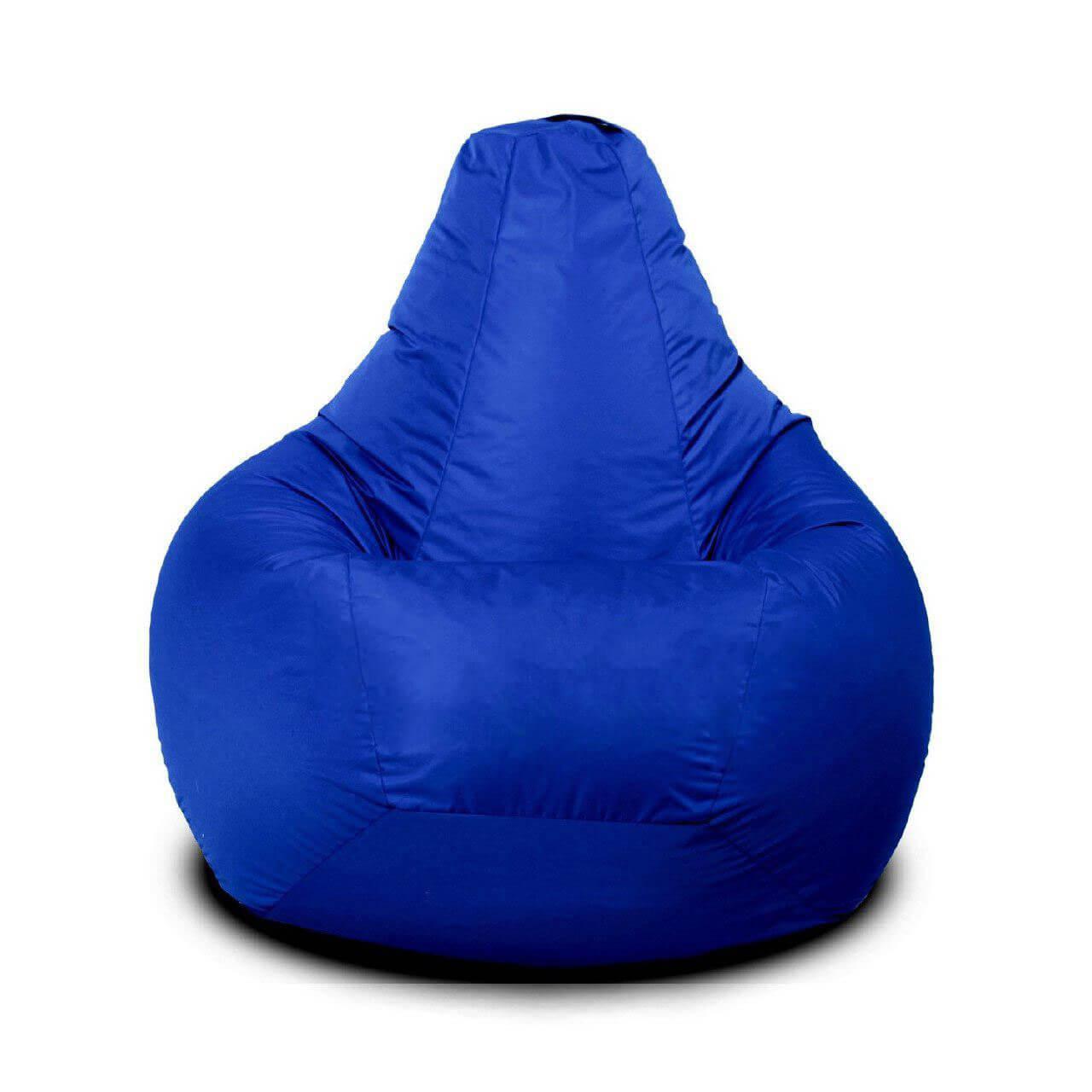 Кресло-груша KatyPuf Синее нейлон OXFORD, Размер XXL 140x100
