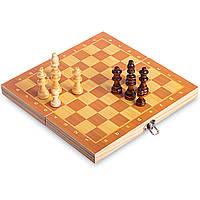 Шахи-настільна гра дерев'яні на магнітах W6702 (р-р дошки 29см x 29см), фото 1