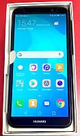Мобильный телефон Huawei Y5 2018 Black (51092LEU) 2GB/16Gb 3020mAh Новый + стекло и чехол в подарок