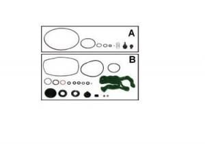 Рем.комплект осушителя HALDEX EKGH.64.8