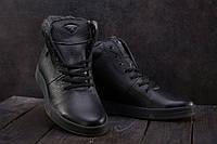 Мужские ботинки кожаные зимние черные Milord Olimp B, фото 1