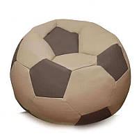 Кресло-мяч KatyPuf коричневое Оксфорд, Размер 50см