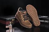 Чоловічі черевики шкіряні зимові оливкові Yuves 600, фото 2