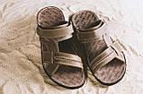 Мужские сандали кожаные летние коричневые Bonis Original 25, фото 5
