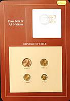 Набор монет Чили  (1-50 песо) 1981-1984 гг. (4 шт)