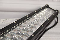 Автомобильная фара LED на крышу (66 LED) 198W-MIX | Авто-прожектор | Фара светодиодная автомобильная+ПОДАРОК!, фото 4