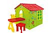 Детский садовый домик + столик + стул Mochtoys, фото 6